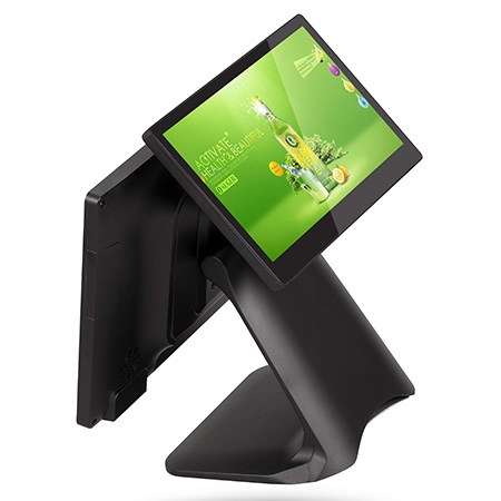 dual screen pos terminal