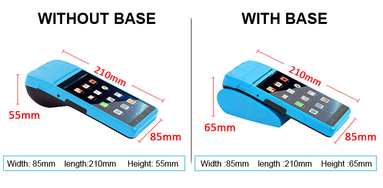 Mobile POS Terminal with 58mm thermal Printer