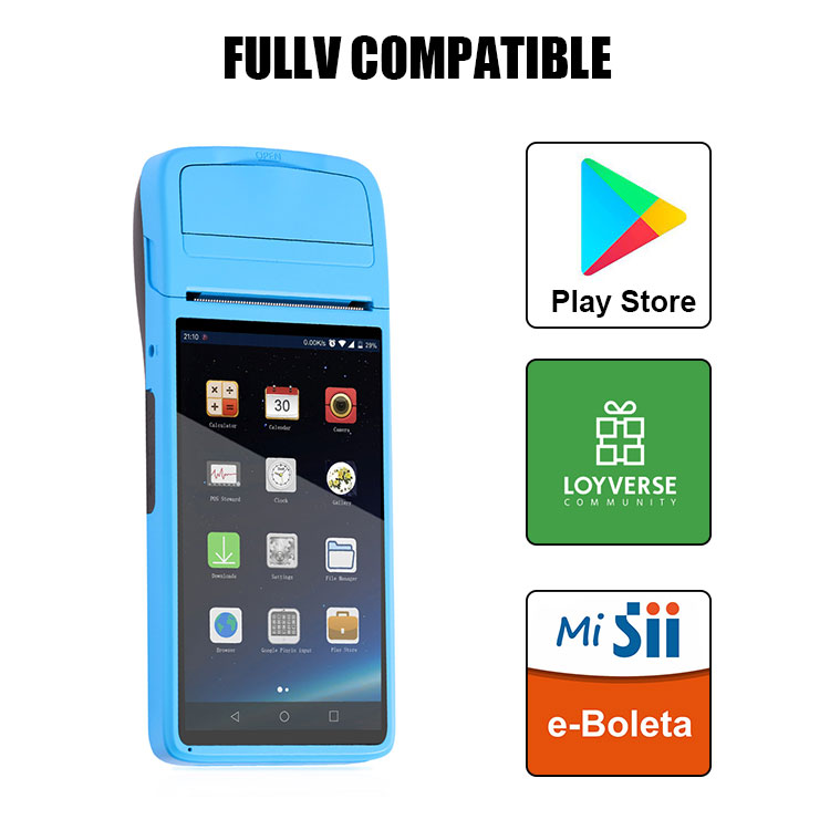 Android Mobile POS Terminal with 58mm thermal Printer